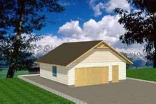 Home Plan - Traditional Exterior - Front Elevation Plan #117-283