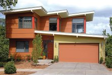 Front View - 1900 square foot Modern Home