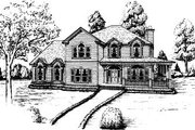 Country Style House Plan - 4 Beds 3.5 Baths 2852 Sq/Ft Plan #37-219