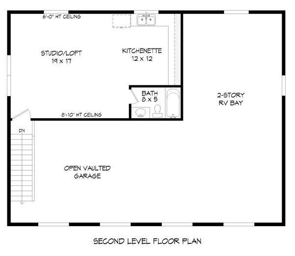 Country Floor Plan - Upper Floor Plan Plan #932-92