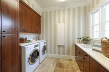 Dream House Plan - Mediterranean Interior - Laundry Plan #930-508