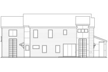 Contemporary Exterior - Other Elevation Plan #124-1131