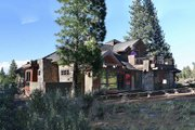 Craftsman Style House Plan - 4 Beds 3.5 Baths 3476 Sq/Ft Plan #892-7 Exterior - Rear Elevation