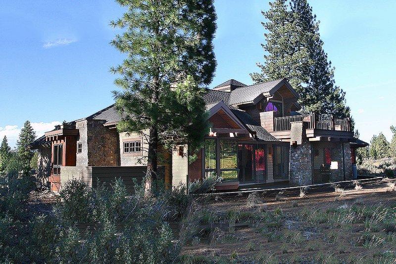 Craftsman Exterior - Rear Elevation Plan #892-7 - Houseplans.com
