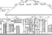 European Style House Plan - 5 Beds 5 Baths 5234 Sq/Ft Plan #135-105 Exterior - Rear Elevation