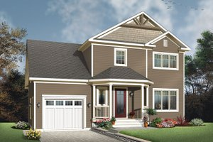 Traditional Exterior - Front Elevation Plan #23-2624