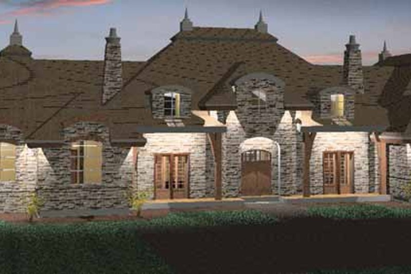 Architectural House Design - Country Exterior - Front Elevation Plan #937-26