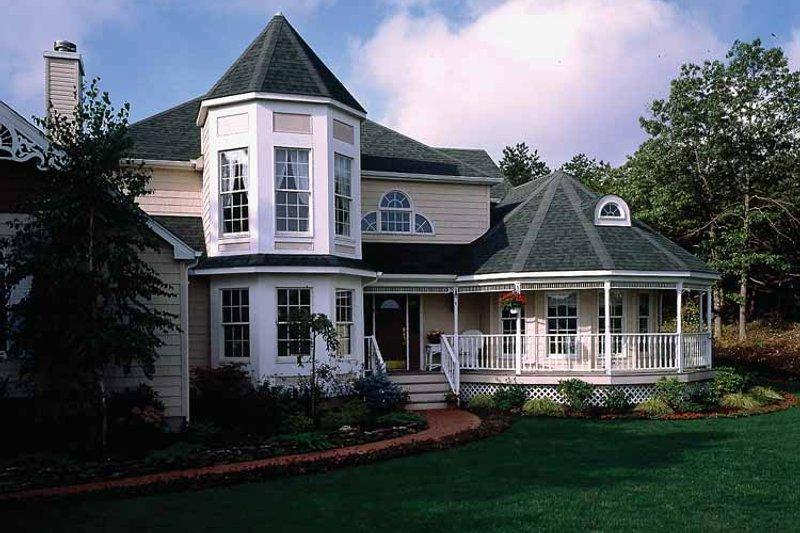 House Plan Design - Victorian Exterior - Front Elevation Plan #314-188