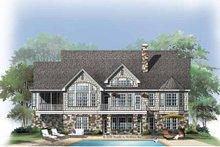 Craftsman Exterior - Rear Elevation Plan #929-761