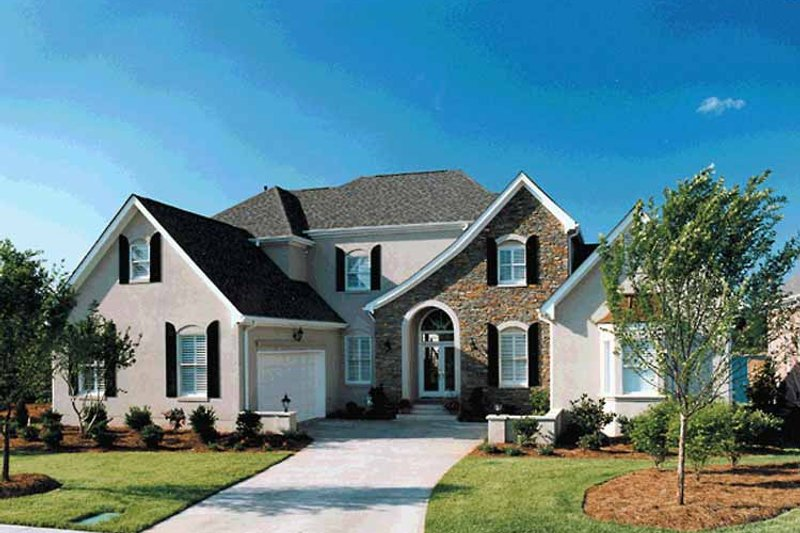 House Plan Design - Country Exterior - Front Elevation Plan #453-397