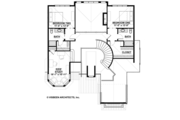 Country Style House Plan - 3 Beds 3.5 Baths 3698 Sq/Ft Plan #928-269 Floor Plan - Upper Floor