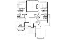 Country Floor Plan - Upper Floor Plan Plan #928-269