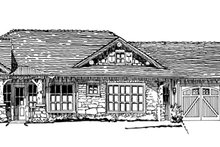 Country Exterior - Front Elevation Plan #942-29