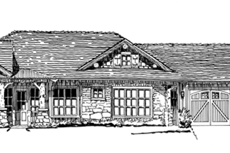 Country Exterior - Front Elevation Plan #942-29 - Houseplans.com