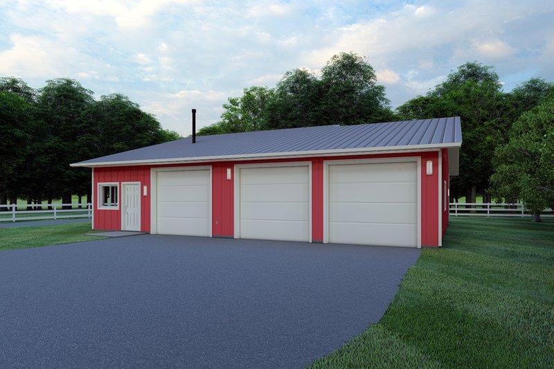 House Plan Design - Ranch Exterior - Front Elevation Plan #126-205