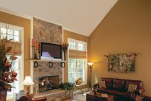 Architectural House Design - Country Interior - Family Room Plan #927-502
