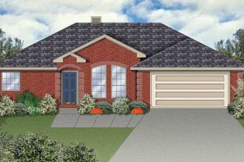 House Plan Design - Ranch Exterior - Front Elevation Plan #84-644