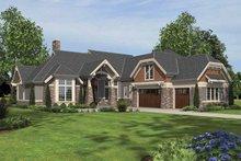 Home Plan - Craftsman Exterior - Front Elevation Plan #48-879