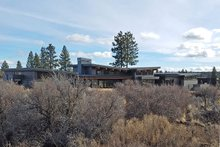 Dream House Plan - Contemporary Exterior - Rear Elevation Plan #892-24
