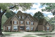 Dream House Plan - European Exterior - Front Elevation Plan #17-3329