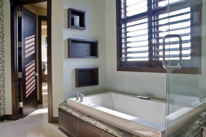 Contemporary Interior - Master Bathroom Plan #928-67 - Houseplans.com