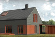 Contemporary Style House Plan - 3 Beds 2 Baths 1500 Sq/Ft Plan #906-4 Photo