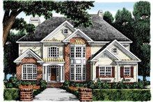 Home Plan - Colonial Exterior - Front Elevation Plan #927-875
