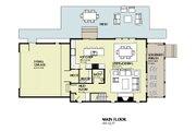 Beach Style House Plan - 3 Beds 2.5 Baths 1997 Sq/Ft Plan #901-121 Floor Plan - Main Floor Plan