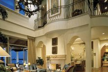 House Plan Design - Mediterranean Interior - Family Room Plan #1039-2