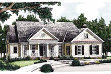 House Plan Design - Classical Exterior - Front Elevation Plan #927-352