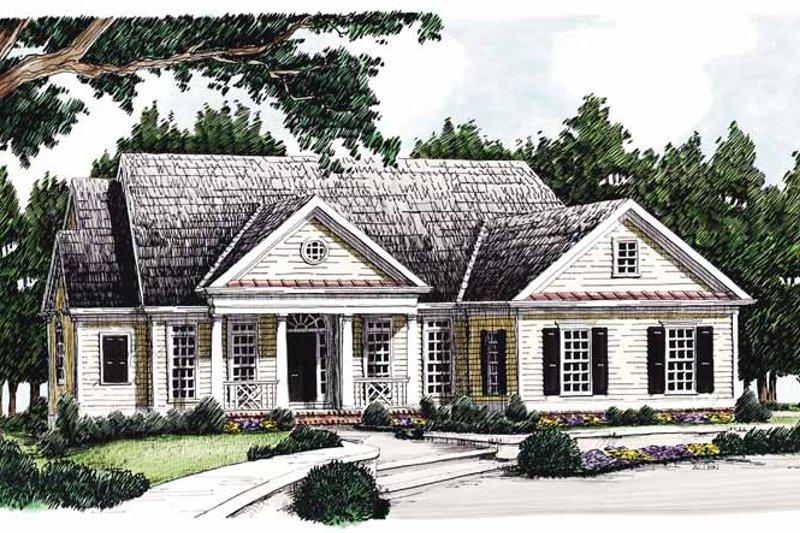 Classical Exterior - Front Elevation Plan #927-352 - Houseplans.com