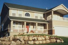 Country Exterior - Front Elevation Plan #945-38