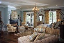 European Interior - Master Bedroom Plan #453-609