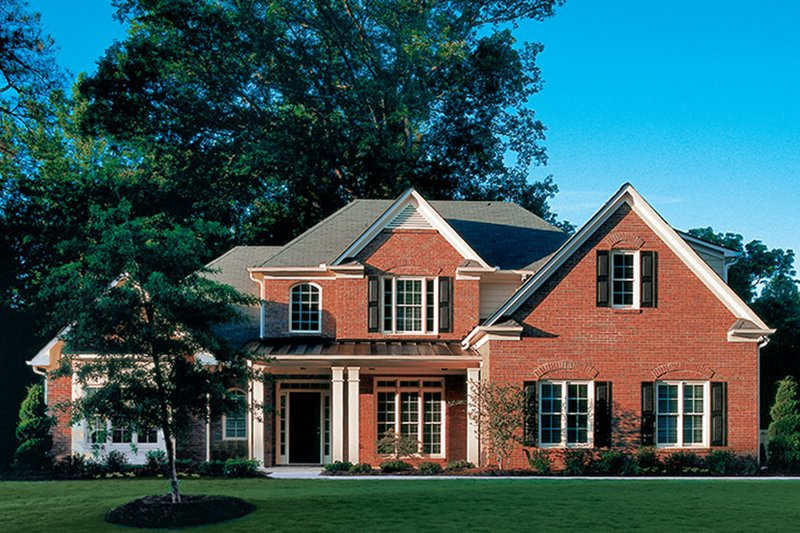 Traditional Exterior - Front Elevation Plan #927-874 - Houseplans.com