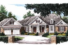 Home Plan - Country Exterior - Front Elevation Plan #927-653
