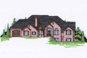 Traditional Exterior - Front Elevation Plan #945-115