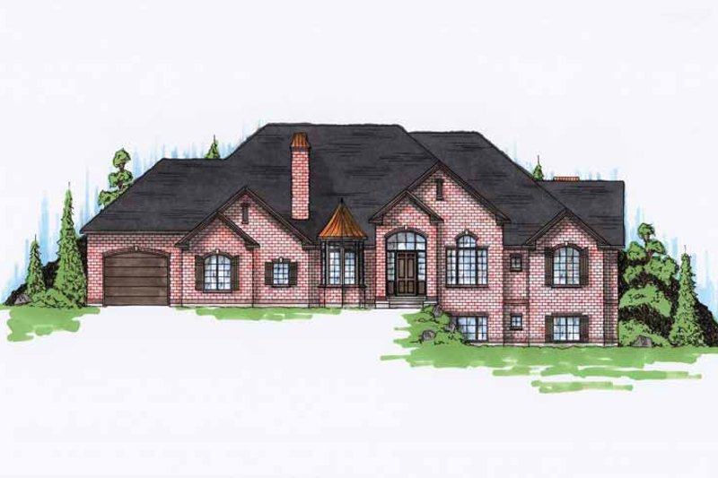 House Plan Design - Traditional Exterior - Front Elevation Plan #945-115