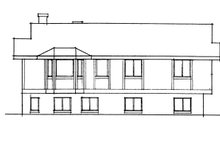 Architectural House Design - Prairie Exterior - Other Elevation Plan #60-1039