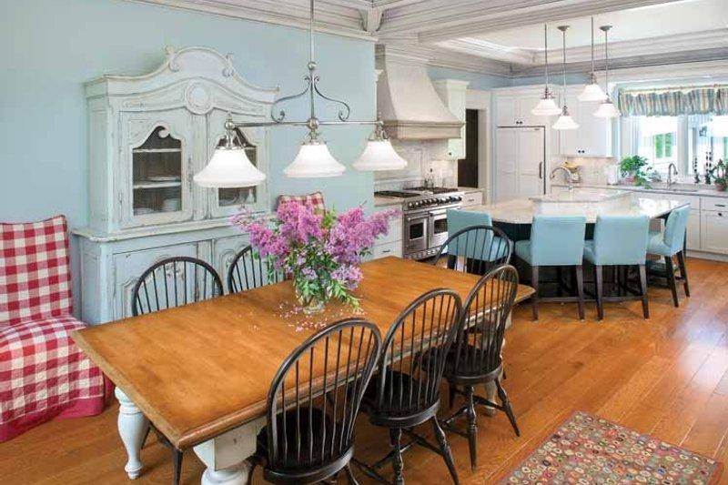 European Interior - Dining Room Plan #928-16 - Houseplans.com