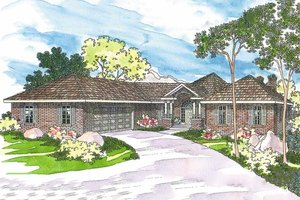 Ranch style home, elevation