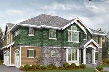 Craftsman Exterior - Front Elevation Plan #132-374