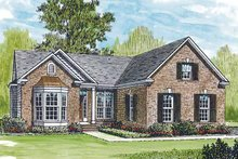 House Plan Design - Ranch Exterior - Front Elevation Plan #453-210