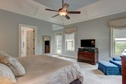 Ranch Style House Plan - 3 Beds 3.5 Baths 2350 Sq/Ft Plan #437-89 Interior - Master Bedroom