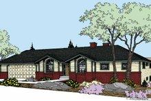 House Plan Design - Prairie Exterior - Front Elevation Plan #60-1031