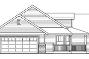 Farmhouse Style House Plan - 3 Beds 2 Baths 1506 Sq/Ft Plan #124-686 Exterior - Other Elevation