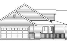 House Plan Design - Farmhouse Exterior - Other Elevation Plan #124-686