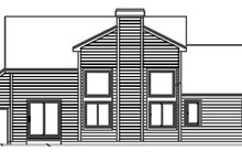 Country Exterior - Rear Elevation Plan #300-139