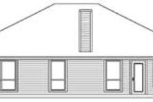 House Design - Traditional Exterior - Rear Elevation Plan #84-174