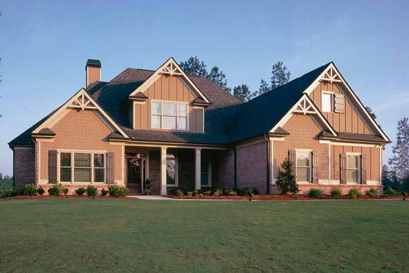 Country Exterior - Front Elevation Plan #927-287 - Houseplans.com