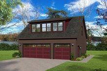 Contemporary Exterior - Front Elevation Plan #932-239